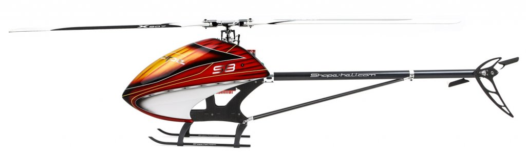 New Helicopter Shape S8 | Heligods - The International RC ... on